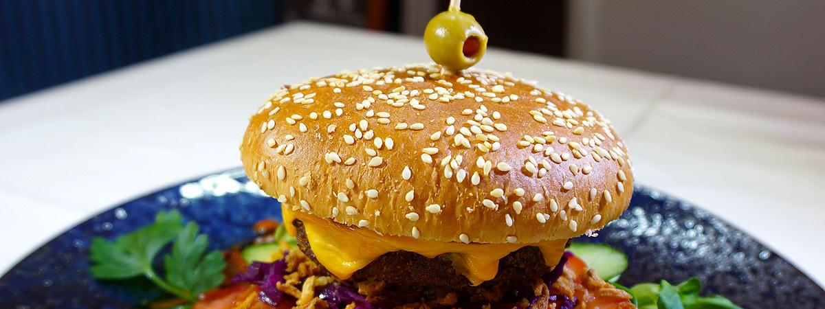 unser leckerer Burger