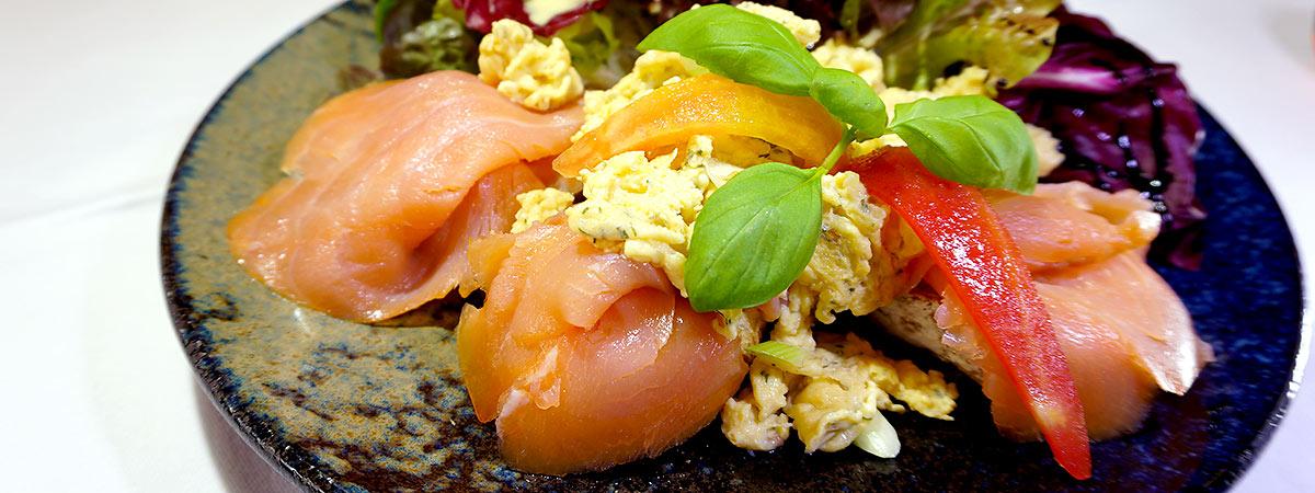Lachsgericht in unserer Gastronomie